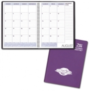 Academic Monthly Desk Frosted Vinyl Covers