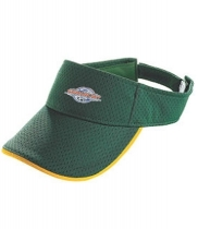 Athletic Mesh Two Color Visor- Youth