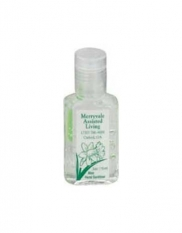 0.5 oz. Clear Sanitizer in Clear Bottle