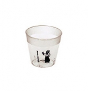 1 Oz. Clear Plastic Shot Glass