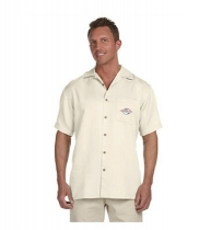 Harriton® Men's Bahama Cord Camp Shirt