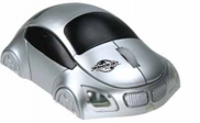 Car Shaped Wireless Mouse With LED Headlights