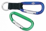 8 Cm Carabiner With Lanyard Option