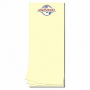 25 Page 3-1/2 x 8-1/2 Paper Note Pad
