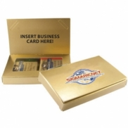 Business Card Holder w/Ghiradelli Squares