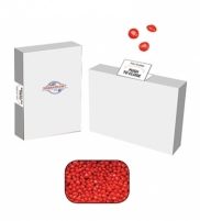 Recyclable Boxes Candy or Gum - Red Hots