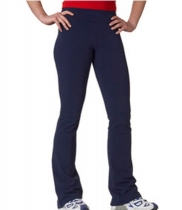 BELLA + CANVAS ladies Cotton/Spandex Fitness Pants