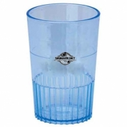 1.5 Oz. Blue Sampler/ Shot Glass - Mini-Brites - The 500 Line