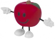 Apple Stress Reliever Figure